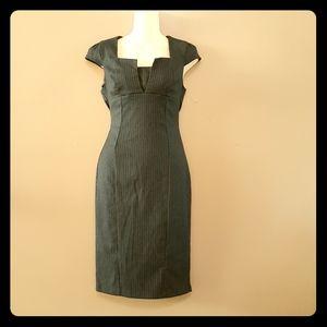 ☕ 2/$30 | ASOS pin stripe business work dress 4